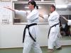 Training at Master Mabuni's dojo in Osaka 2013