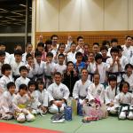 Aussie kids on 2013 Tour of Japan - Training at dojo of Sonoyama Sensei, the famous coach of current World Kata Champion Kiyou Shimizu