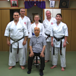 After training with Master Mabuni, Japan 2013